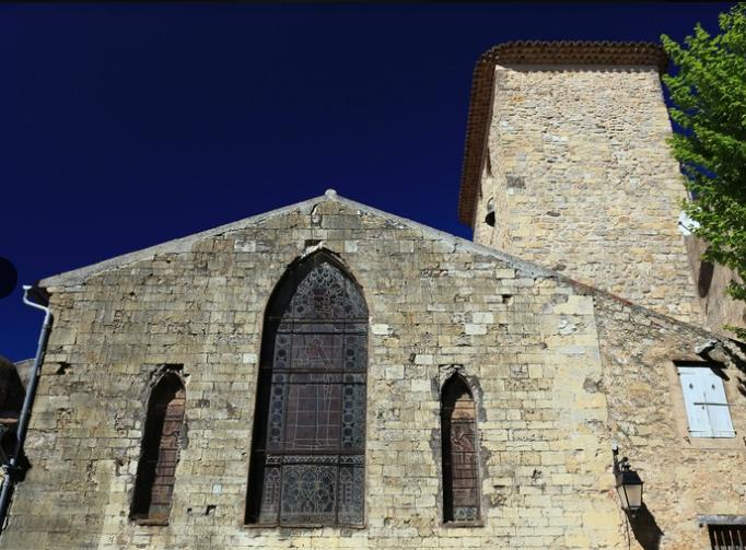 Collégiale du Val, consacrée à Notre-Dame-de-l'Assomption